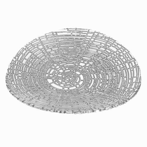 "Badash 11"" Web Silver Plate (D233S)"