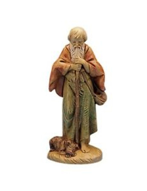 "Roman Fontanini 5"" Collection Abraham the Old Villager"