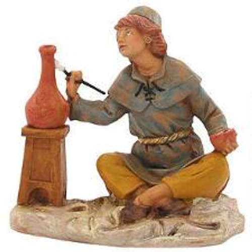"Roman Fontanini 5"" Collection Andrew the Potter"