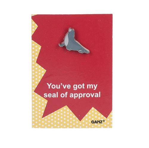 Ganz Enamel Pin - Seal