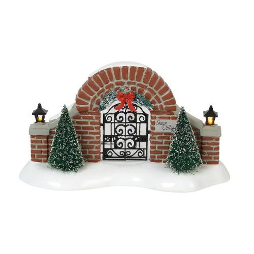 Department 56 Snow Village Gate