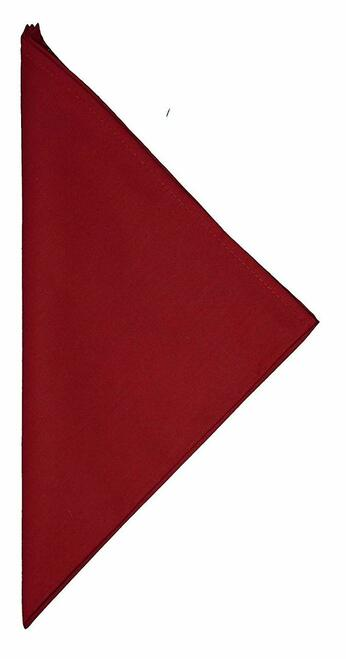 "C&F Enterprises 18"" x 18"" Burgundy Napkin, Set of 4"