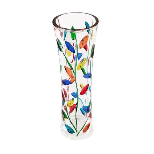 Gage Tree of Life Bud Vase, Multi-Color