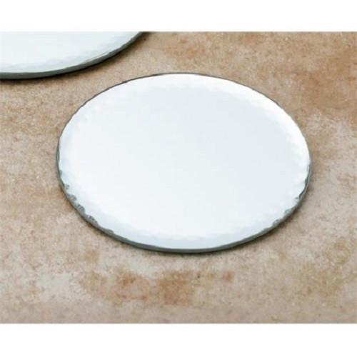 Biedermann & Sons 4-Inch Round Mirror Plate