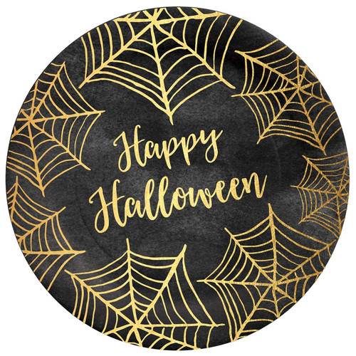C.R. Gibson Paper Lunch/Dessert Plates, Happy Halloween