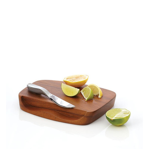 Nambe Blend Bar Board with Knife (MT0648)