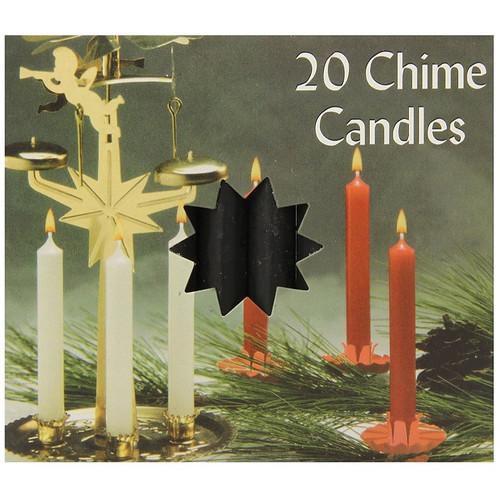 Biedermann & Sons Chime Candles, Black