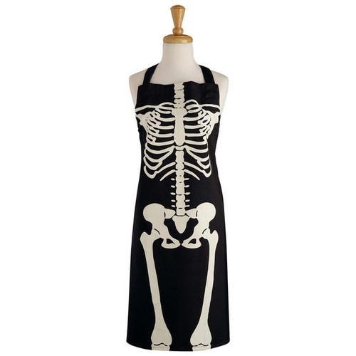Design Imports India Skeleton Apron
