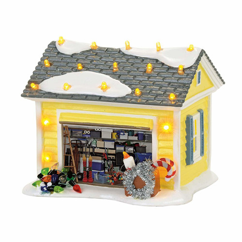 Department 56 Christmas Vacation Village, The Griswold Holiday Garage
