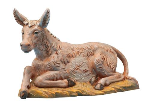 "Roman Fontanini 5"" Collection Seated Donkey"