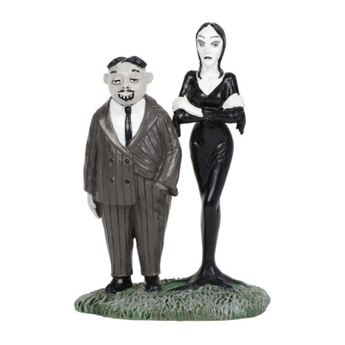 Department 56 Addams Family Gomez and Morticia Collectible Figurine