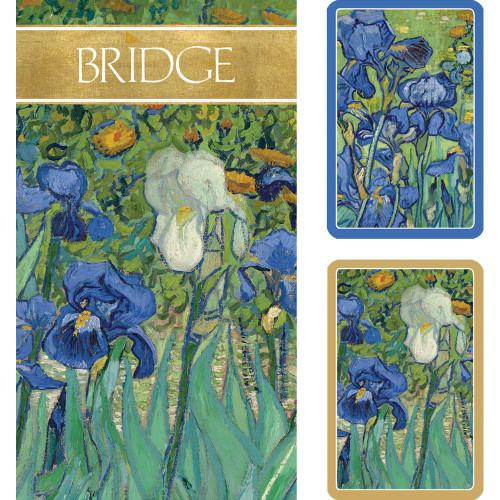 Caspari Bridge Gift Set, Van Gogh Irises (GS131)