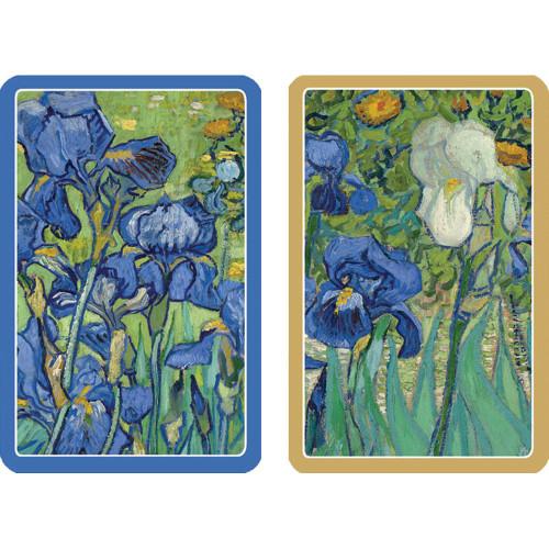Caspari Bridge Playing Cards, Van Gogh Irises, 2 Decks (PC131)