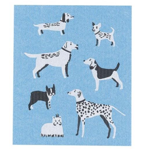 Now Designs Dog Days Swedish Dishcloth