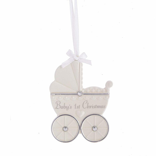 Midwest CBK - Baby's First Christmas Carriage Ornament