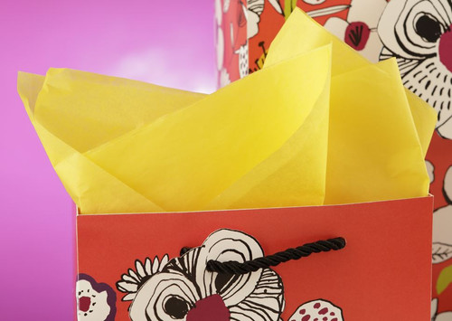 The Gift Wrap Company Solid Gift Tissue, Bright Yellow