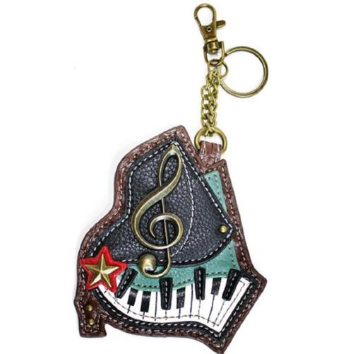 Chala Coin Purse/Key Fob, Piano
