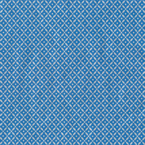 Caspari 8' Continuous Gift Wrap Roll, Diamond Brocade Blue Foil (9674RC)