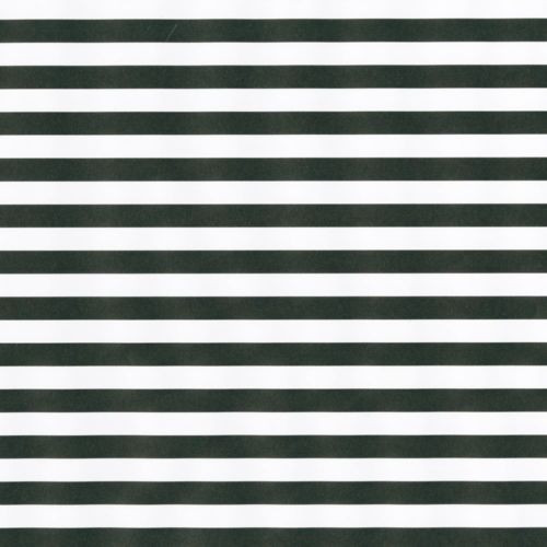 Caspari 8' Continuous Gift Wrap Roll, Club Stripe Black/Pearl Reversible (97271RC)
