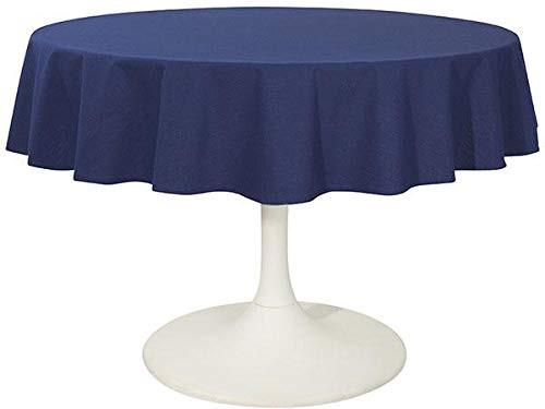 "Now Designs Indigo Renew Tablecloth, 60"" Round"