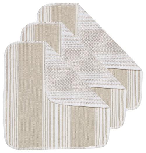 Now Designs Sandstone Scrub-It Dishcloths, Set of 3