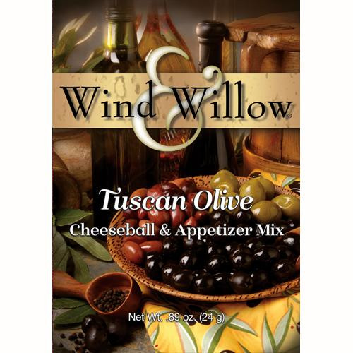 Wind & Willow Cheeseball & Appetizer Mix, Tuscan Olive