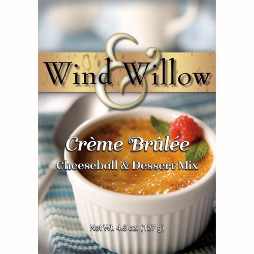 Wind & Willow Cheeseball & Dessert Mix, Crème Brȗlée