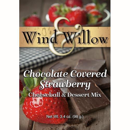 Wind & Willow Cheeseball & Dessert Mix, Chocolate Covered Strawberry