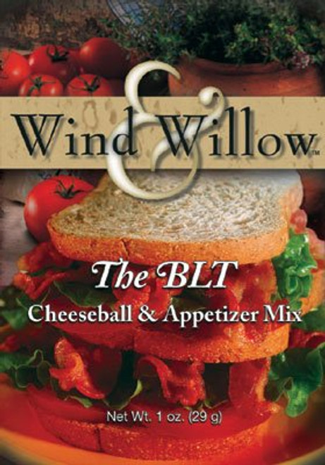 Wind & Willow Cheeseball & Appetizer Mix, The BLT