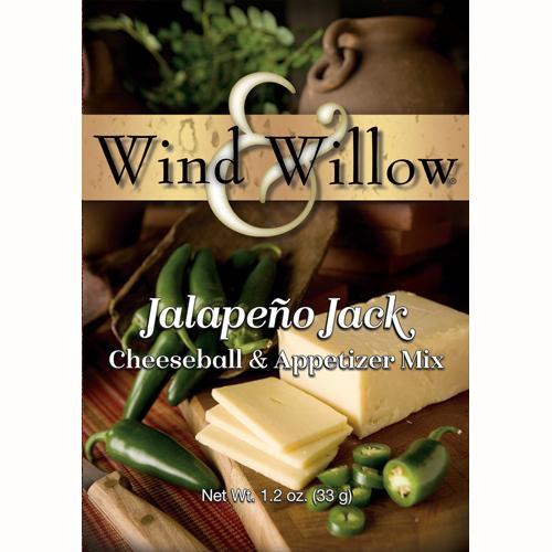 Wind & Willow Cheeseball & Appetizer Mix, Jalapeno Jack
