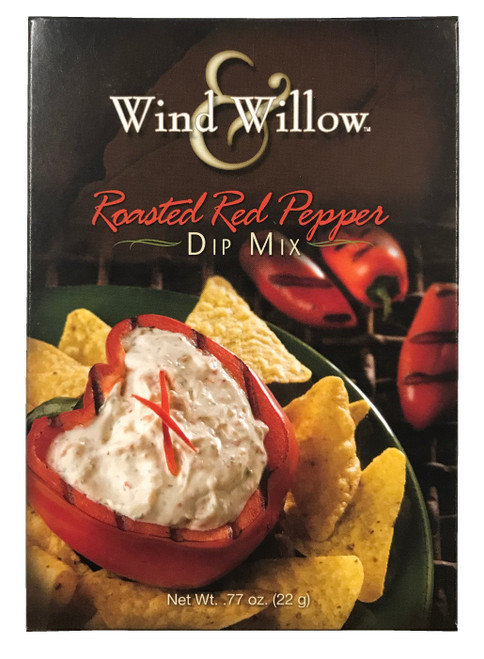 Wind & Willow Dip Mix, Roasted Red Pepper