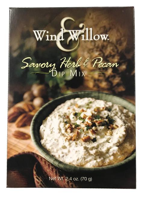 Wind & Willow Dip Mix, Savory Herb & Pecan