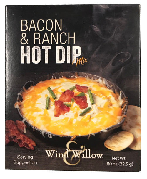 Wind & Willow Hot Dip Mix, Bacon & Ranch