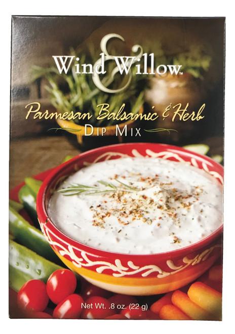 Wind & Willow Dip Mix, Parmesan Balsamic & Herb