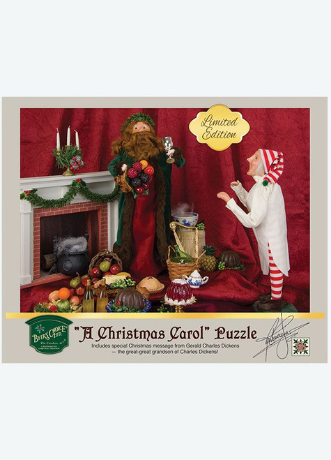 """Byers' Choice Puzzle, Dickens' """"A Christmas Carol"""" (6341)"""