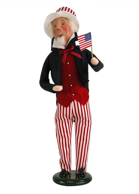 Byers' Choice Caroler, Uncle Sam (ZSS09)