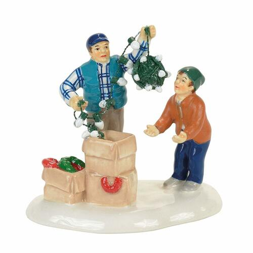 Department 56 Christmas Vacation, Clark & Rusty Continue the Tradition