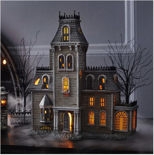 Department 56 Snow Village Halloween The Addams Family House