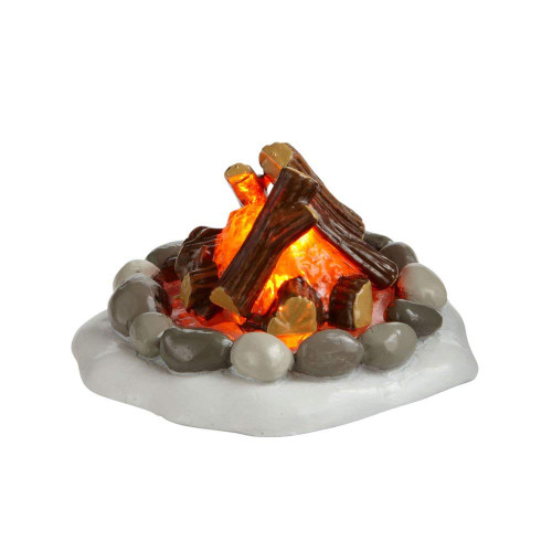 Department 56 Accessories for Villages Lit Fire Pit Accessory Figurine
