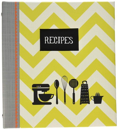 C.R. Gibson Pocket Page Recipe Book, Kitchen Gear