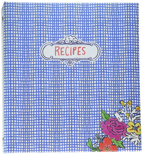 C.R. Gibson Pocket Page Recipe Book, Flourish