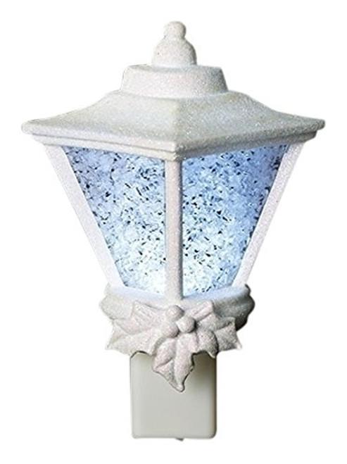 Roman LED Crystal Ice Lantern Glitter Nightlight