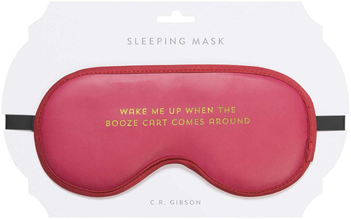 C.R. Gibson Sleep Mask, Booze Cart
