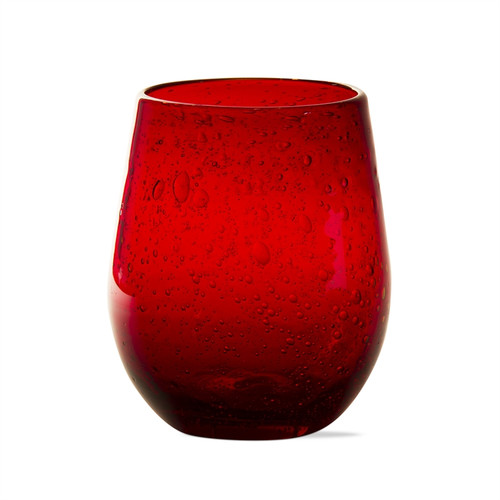TAG Stemless Bubble Wine Glass, Red (207472)