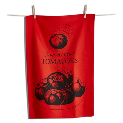 "TAG ""From My Head Tomatoes"" Dish Towel (207416)"