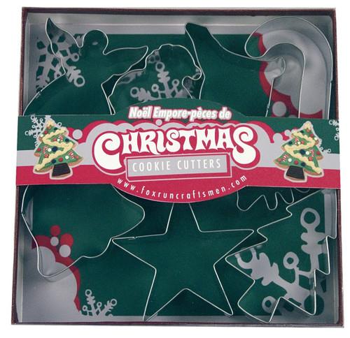 Fox Run Christmas Cookie Cutter Set, 7-Piece (3648)