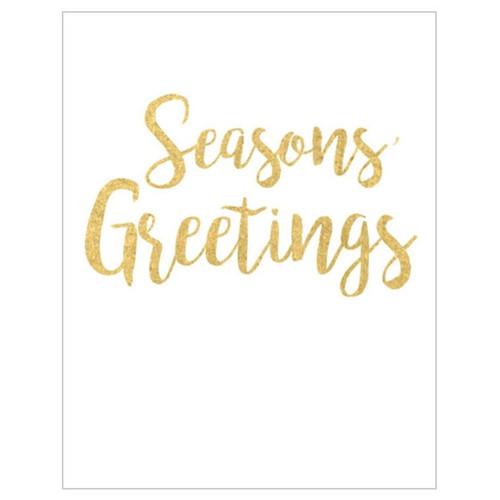 Caspari Gift Enclosure Cards, Season's Greetings (47DENC)