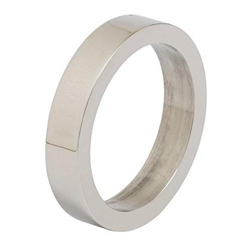 Design Imports Silver Circle Napkin Ring - Set of 4