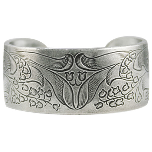 Salisbury Pewter Bracelet - Flower of the Month - May