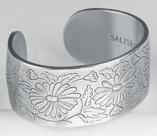 Salisbury Pewter Bracelet - Flower of the Month - September